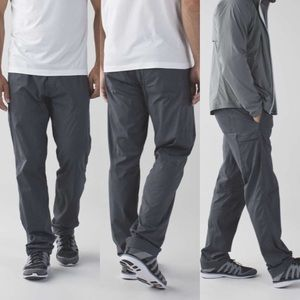 Lululemon seawall track pant 2.0 men's small gray